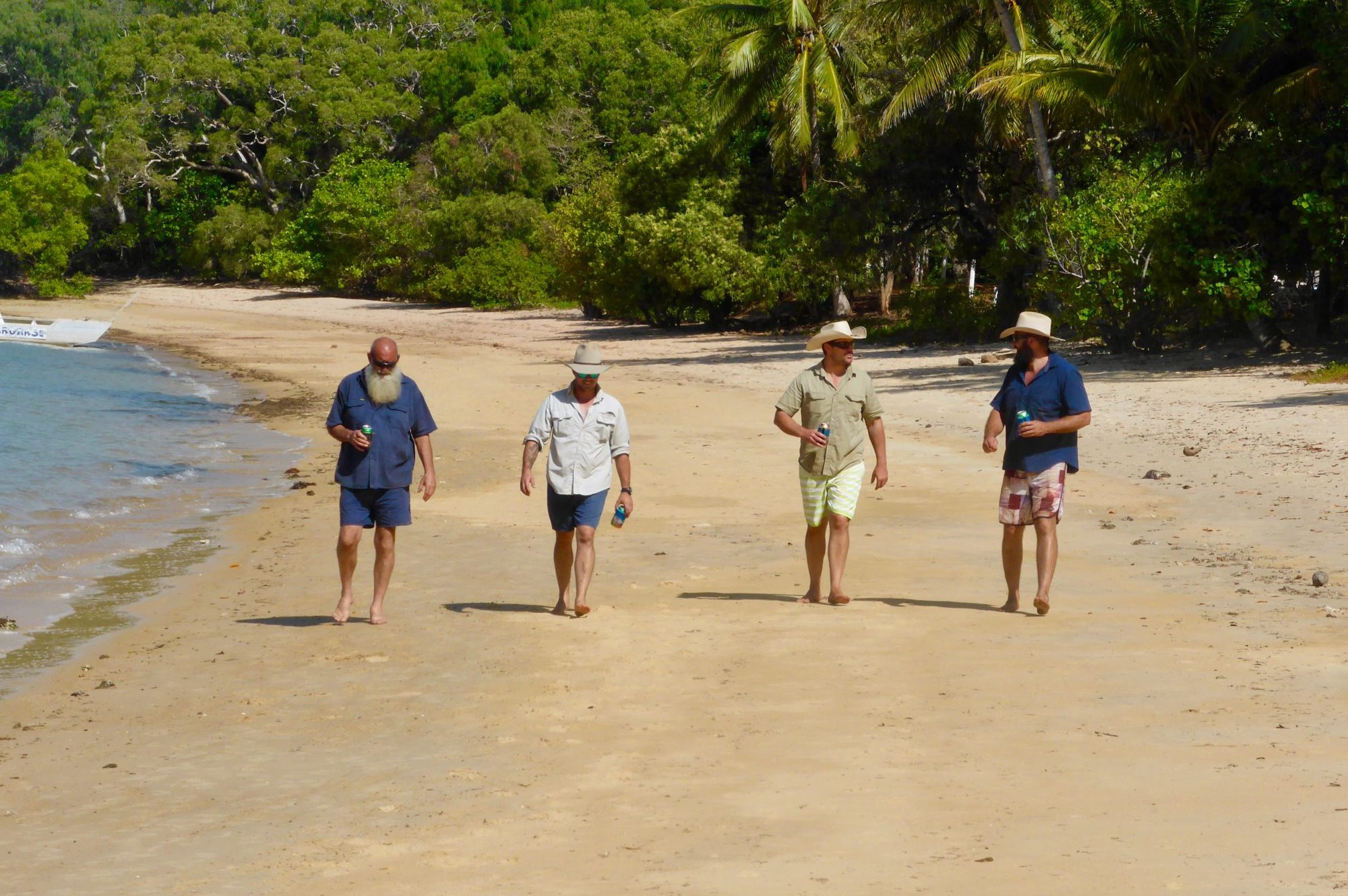 Exploring Cape York Beaches With Four Mates And Icy Cold Beers