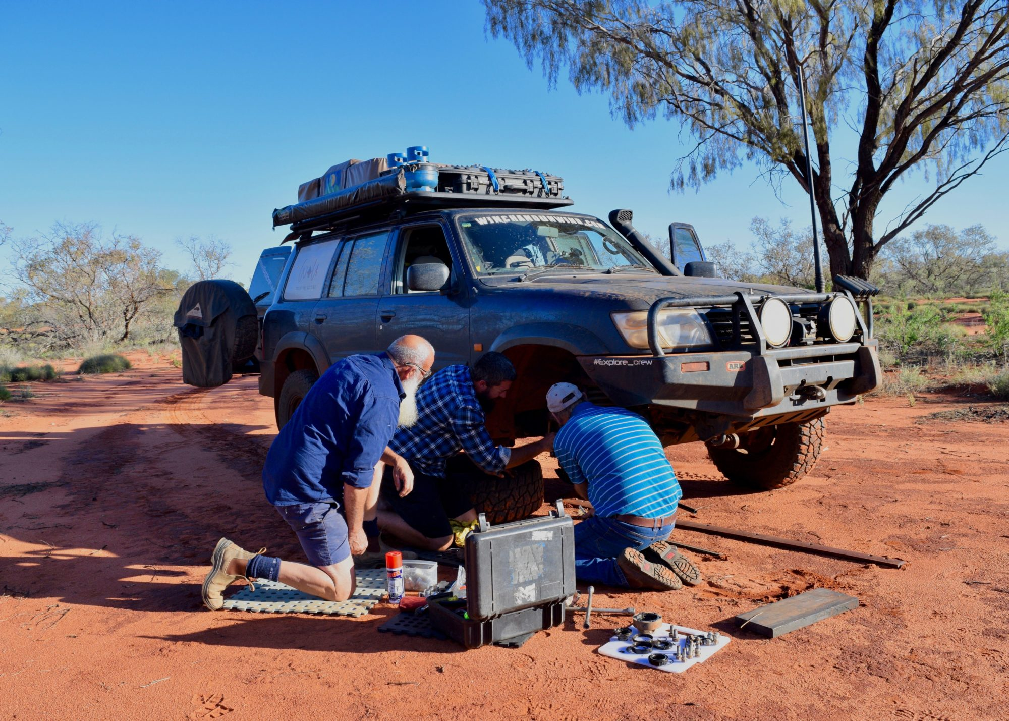 Bush Mechanics – Tjukaruru Road, NT