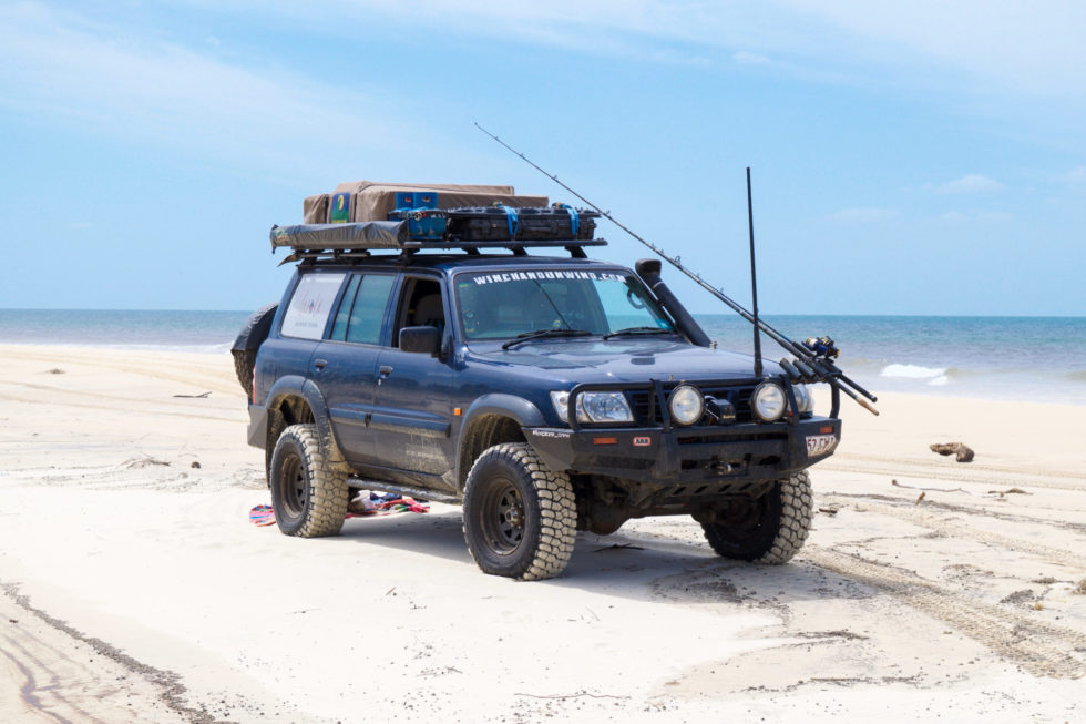 The Winch & Unwind Rig – Fraser Island, QLD